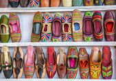 Ethnic shoes — Stock Photo