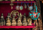 Souvenirs shop in Nepal — Stock Photo