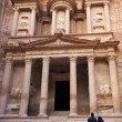 Stock Photo: Al Khazneh - the treasury of Petra ancient city, Jordan