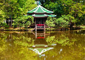 View of a Buddhist temple — Stock Photo