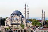 View of The Suleymaniye Camii mosque in the center of Istanbul city, Turkey — Stock Photo