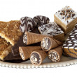 Stock Photo: Set confectionery