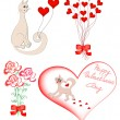 Royalty-Free Stock Vector Image: Set of elements for Valentine