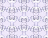 Seamless lilac pattern — Stock Vector