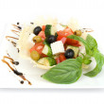 Salad isolated on white — Stock Photo #12235451