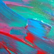 Abstract art backgrounds. Hand-painted background. SELF MADE. — Foto de Stock