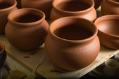 Clay pottery ceramics — Stock Photo