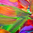 Abstract art backgrounds. Hand-painted background. SELF MADE. - Stock Photo