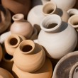 Stock Photo: Pots before firing