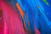 Abstract art backgrounds. Hand-painted background. SELF MADE. — Stock Photo
