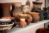 Cerámica de cerámica de arcilla — Foto de Stock