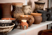 Clay pottery ceramics — Stock fotografie