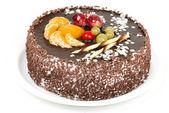 Cake on white — Stock Photo