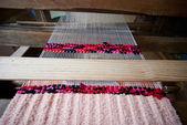 Loom. background — Stock Photo
