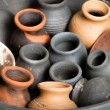 Pots. background — Stock Photo #25012165