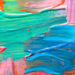 Abstract art backgrounds. Hand-painted background — Stock Photo