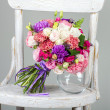 Foto Stock: Flowers background