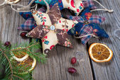 クリスマスの組成 — ストック写真