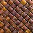Brown wicker texture used as a background — Stock Photo #39095293