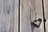 Valentines Day background with hearts. — Stock Photo