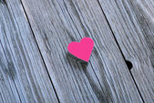 Valentines Day background with heart — Stock Photo