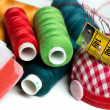 Sewing background — Stock Photo