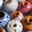 Stock Photo: Pots in glaze