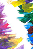 Abstract art background. Hand-painted background — Stockfoto