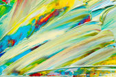 Abstract art background. Hand-painted background — ストック写真