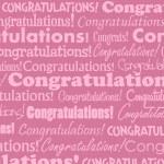 Постер, плакат: Congratulations
