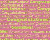 Congratulations — Stock Vector