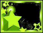 Neon Starburst Background — Stockfoto
