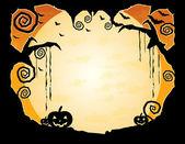 Halloween Grungy Background — Stock Vector