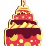 Layered Cake — Stock Vector #9927198