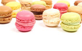 Colorful macaroons — Stockfoto