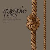 Rope Set 3 — Vector de stock