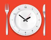 Dinner Time — Stock Vector