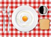 Dinner Plate Set 6 — Stock Vector