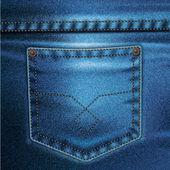 Jeans vektor bakgrund uppsättning 2 — Stockvektor