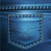 Set sfondo vettoriale di jeans 2 — Vettoriale Stock