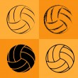 Volleyball Ball Set 2 — Stock Vector