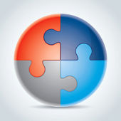 Puzzle Set 1 — Stock Vector
