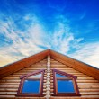 Stock Photo: Wooden home