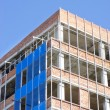 Stock Photo: Office building construction site