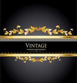 Elegante etiqueta vintage — Vector de stock