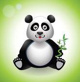 Bebek panda — Stok Vektör