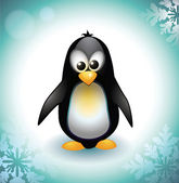 Baby Penguin — Vector de stock