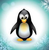 Baby pinguïn — Stockvector