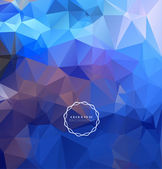 Abstract polygonal background — Stock Vector