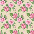 Hand-drawn briar seamless pattern — Stock Photo #27450933